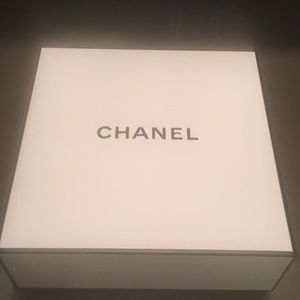 Chanel empty box with pouch